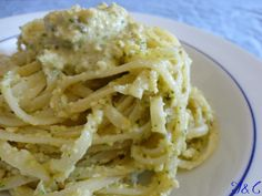 Linguine al Pesto Di Agrumi….! - The recipe is in Italian...