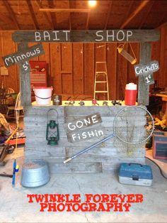 The Bait Shop I Made For A Mini Session