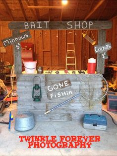 The Bait Shop I Made For A Mini Session