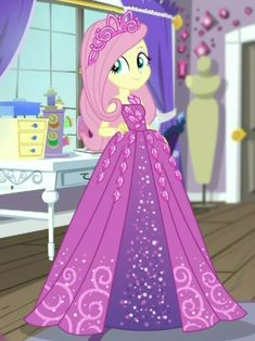 """RamBamBoo — Fluttershy: """"I look like a princess! Arte My Little Pony, My Little Pony Tattoo, My Little Pony Movie, My Little Pony Princess, My Little Pony Twilight, My Little Pony Drawing, My Little Pony Pictures, Flame Princess, Fluttershy"""