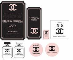 Paper Toys, Paper Crafts, Accessoires Barbie, Chanel Decor, Chanel Party, Etiquette Vintage, Perfume Display, Mini Craft, Barbie Accessories