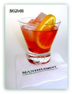 ☆ Classic Negroni with a Twist ☆