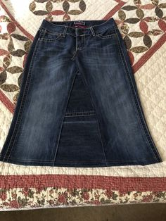 4d7da5a5f172a Womens Size 4 Jean Skirt  fashion  clothing  shoes  accessories   womensclothing  skirts (ebay link)