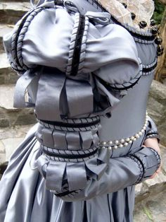 A Florentine Gown in the style of 1540s