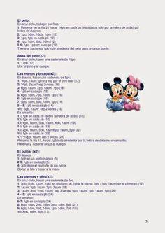 Disney Baby Amigurumi with Recipe: - How to do it # Häkeln Sie Baby Disney Disney Baby Amigurumi with Recipe: Disney Baby Amigurumi with Recipe: - How Do I # Häkeln Sie Ba . Antonia Konopelski th Crochet Doll Pattern, Crochet Patterns Amigurumi, Amigurumi Doll, Crochet Dolls, Crochet Mickey Mouse, Minnie Mouse, Disney Babys, Disney Disney, Amigurumi For Beginners