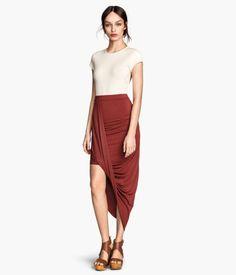 H&M Draped skirt $39.95