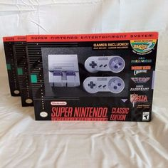 nintendo super nes classic edition console #SNES mini in hand from $139.95