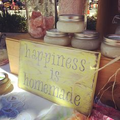 Happiness is homemade. @bodybybees #organic #homemade @thewifeandthewoodsman