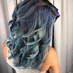Stonewashed Blue/Denim Hair