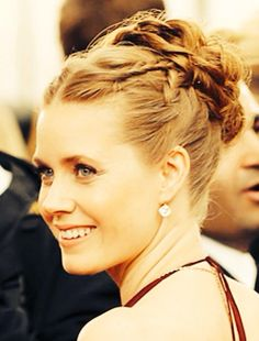 All the Details of Amy Adams' Modern Grecian Up-Do Amy Adams Hair, Amy Adams Style, Lady Lovely Locks, Hair Styles 2014, Bridesmaid Hair, Hair Art, Hair Today, Pretty People, Her Hair