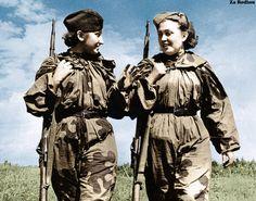 Soviet female snipers