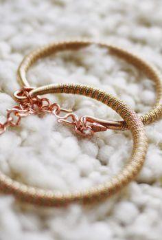 Hmong Copper twist bracelets:) Love them!