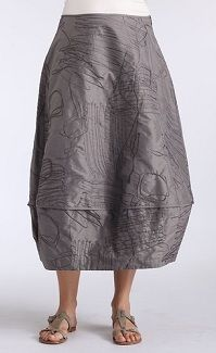Silk skirt, Oska