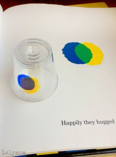 It's Leo Lionni Week! Click through for fun book extension ideas for Little Blue and Little Yellow, Swimmy and Color All His Own! What a cool idea for color mixing!