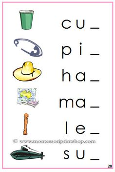 Step 2 Phonetic Initial Sound Choice Cards - circle the correct ...