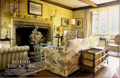 photographer Christopher Simon Sykes, from Cote de Texas Belton House, Harewood House, Interior Rugs, Interior Decorating, Decorating Ideas, English Interior, Yellow Interior, Pretty Room, World Of Interiors