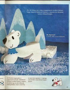 ijsbeer van papier Polar bear hibernation