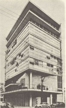 Sede do Instituto de Arquitetos do Brasil em São Paulo. Projeto de Rino Levi.