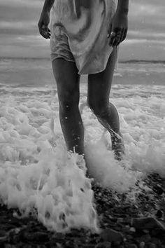 ocean | waves | black + white | photography