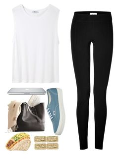 """""""Diana"""" by breakingtables ❤ liked on Polyvore featuring Vans, T By Alexander Wang and Helmut Lang"""