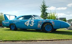 Plymouth Superbird (Richard Petty livery). #OLDSCHOOLNASCAR
