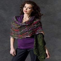 This crochet shawl pattern has it all. It's trendy, colorful, and easy to make. This Magical Multicolored Shawl is a great addition to your wardrobe. It can be worn with nearly any outfit, making it the perfect item to wear any time of the year.