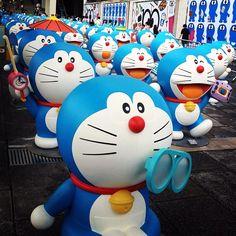 尋日去了探老豬和叮噹<3 #tst #hongkong #hk #doraemon #doraemon100 #harbourcity #lovely #cute - @tobypighead- #webstagram