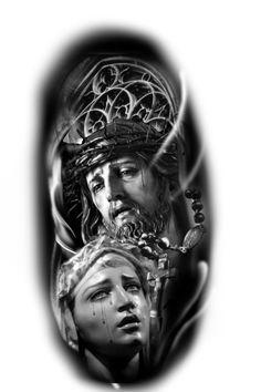 Sleeve Tattoos, Arm Tattoo, Samoan Tattoo, Polynesian Tattoos, Tattoo Ink, Jesus Tattoo Design, Religion Tattoos, Inspiration Tattoo, Celtic Tattoos