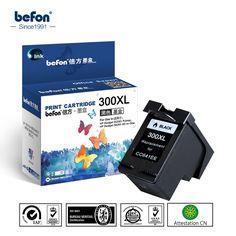 Noir Cartouche D encre pour HP300XL HP300 300 300XL XL CC641EE 641 pour HP  Deskjet 9ad0f8a65ca0