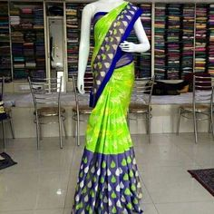 New collection   pochampally ikkat sarees Order what'sapp 9573737490