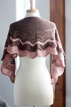 Ravelry: Neoma's Shawl pattern by Rosemary (Romi) Hill