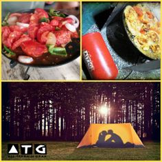 Wonderful lazy camping holidays cooking gourmet meals for your the love of your life.  No need to eat boring tasteless travel food.   ATG stoves can help you look like a professional chef even in the outdoors or when travel.
