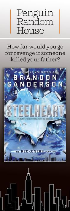 Steelheart is a great teen read for superhero and science fiction fans. It's the first book in The Reckoners series from #1 New York Times bestselling author Brandon Sanderson. In the series, powerful Epics rule the Earth and a shadowy group of rebels called the Reckoners battles to free humanity. David, a new Reckoner, is out for revenge, and he might be the only hope in bringing the superhumans down.  htt…