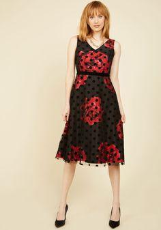 Refined Art A-Line Dress | Mod Retro Vintage Dresses | ModCloth.com