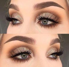 # Make-up 2018 Winter Themen Augen Make-up Looks & Ideen # 12 + . - Eye Makeup Looks - Make-up Love Makeup, Makeup Inspo, Makeup Inspiration, Makeup Tips, Makeup Ideas, Makeup Lessons, Makeup Geek, Makeup Tutorials, Simple Makeup