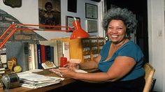 Toni Morrison, writer.