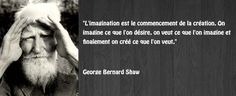 Citation créativité Georges Bernard Shaw