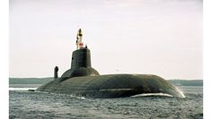 "Russian Akula Class Nuclear submarine (""Typhoon"") Dmitry Donskoy."