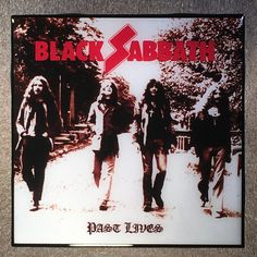 Officially Licensed Black Sabbath 4 Piece Drinks Coaster Set