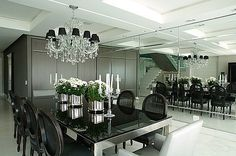 Fashion Drika: Decoração: salas de jantar