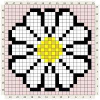 CROCHET C2C DAISY FLOWER : The Craft Co.: Crochet Charts