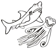 Free Printable Shark Coloring Pages For Kids Coloring Pages