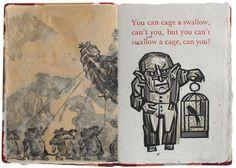 11 English Palindromes . Artist book . Dmitry Sayenko