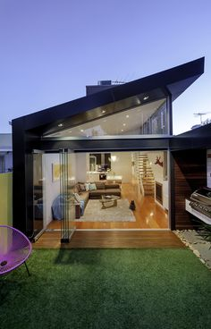 Victorian Townhouse Renovation by Australian building design firm, Sketch Building Design
