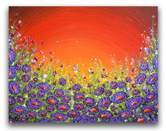 Impasto pintura enmarcado espátula abstracta pintura