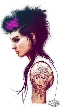 Tattoo Girls | thaeger