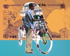 Introducing Sanjay Verma's pop art inspired by Indian urban life.
