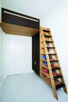 Himmelsk hemsDrømmer du om ekstra plads i børneværelset, er der håb forude. Hos Københavns Møbelsnedkeri kan du bestille dette smarte multimøbel, som på en stilfuld måde ...