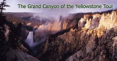Grand Canyon of the Yellowstone - driving/hiking tour in eastern part of Park