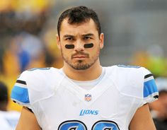 Detroit Lions tight end Joe Fauria sprained his ankle after chasing his puppy, Lil' Rufio, around his apartment.